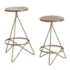re:pin BKLYN contessa :: arteriors :: wyndham barstools
