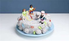 Reach new heights by making this rock climbing-themed treat for her party. The super-simple cake can be assembled faster than getting into a climbing harness. Idea from FamilyFun magazine.