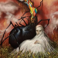 Circa Survive's album artwork for the appendage album.