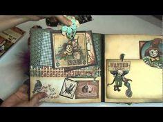 Halloween Mini Album - Graphic 45 Magic of Oz