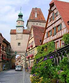 Rothenburg, Germany...one my favorites as kid. Quaint, narrow cobblestone streets. A delight at Christmas time.