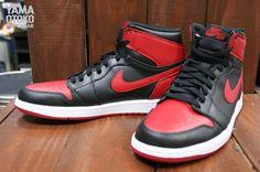 """Air Jordan 1 (I) Retro High OG """"Bred"""" New Images"""