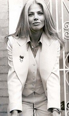 Britt Ekland; she rocked the 60s and 70s with her style
