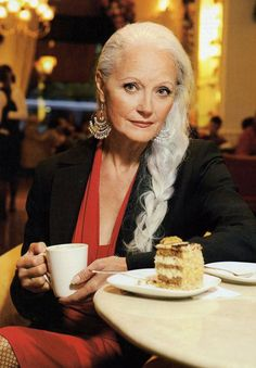 Sera Rodriguez (age 62) a senior supermodel from Switzerland and four-time grandmother! something to aspire to!