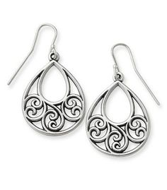 Gentle Wave Ear Hooks: James Avery. These are my FAVORITE earrings!! #DYT #Type2