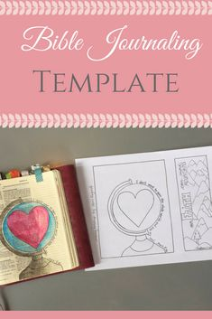 Two Bible Journaling Templates for use in your Journaling Bible. You may also use them as bookmarks. Just print, trace, color and you have a beautiful piece of handmade art. These are great verses and songs to remind you or your loved ones what is really important. #affiliate #biblejournaling #bible