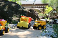 Rock quarry. #construction #party #constructionparty #trucks #toddlers #truckparty #2yo #birthday
