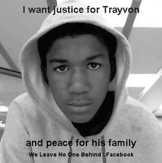 Trayvon Martin's mother is expected to testify on Friday (tomorrow).  It would be fantastic if we could all put the below photo or a photo of yourself in a hoodie as your profile pic just for today to show support for her and the other members of the family.    Please share and let's show them some love.    #trayvon #justicefortrayvon