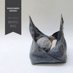 DIY Bento BagThis is a really good tutorial for beginner sewers because you start with a rectangle that you fold and then sew. You can make this DIY Origami Bento Bag in any size you want because you start with a piece of fabric where the length is 3...