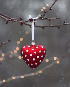 60 Amazing DIY Ornaments for Christmas Oh My Heart, Heart Day, Happy Heart, My Sweet Valentine, Love Valentines, Valentine Heart, Valentines Greetings, Noel Christmas, Christmas Balls