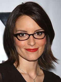 04da3a528be Short haircut with dark frames. Cute Hairstyles For Short Hair