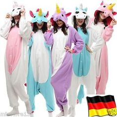 Nette Unisex Adult Onesies Kigurumi Tier Jumpsuit Kostüm Sleepwearrobe S-XL | eBay