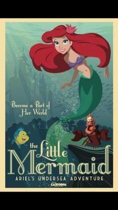 Little mermaid poster!