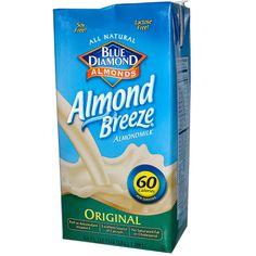 Blue Diamond, Almond Breeze, Almond Milk, Original, 64 fl oz (1.89 L)