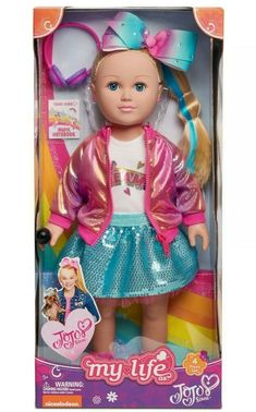 Check out the hottest selection of Jojo Siwa gift ideas! We've put together a list of 75 unique Jojo Siwa products that any fangirl would love! Little Girl Toys, Baby Girl Toys, Toys For Girls, Kids Toys, Cabbage Patch Kids, Lol Dolls, Barbie Dolls, Jojo Hair Bows, Jojo Siwa Outfits