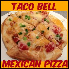 Now you can make your own Taco Bell Mexican pizza and McDonald's yogurt parfait! It's easy and so tasty!