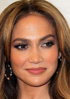http://jenniferlopez-ukraine.blogspot.com/ #JenniferLopez #JLo #makeup #beauty #face #celeb