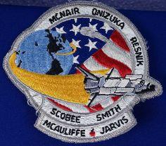 Challenger Mission Patch Jan 28 1986