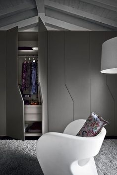 storage hardware accessories for wardrobes dressing room vanity wardrobe design sliding doors walk-in wardrobes.: - March 03 2019 at Wardrobe Door Designs, Wardrobe Design Bedroom, Closet Designs, Closet Bedroom, Wardrobe Ideas, Attic Closet, Wardrobe Systems, Cabinet Door Designs, Cupboard Design