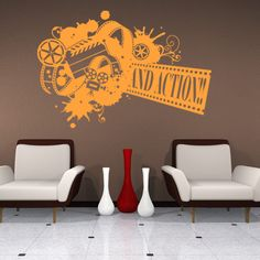 Style and Apply Film Strip Sticker Wall Decor