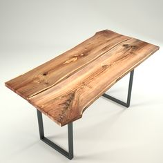 Wood Slab Table 3D model available here: http://3docean.net/item/wood-slab-table-by-igndesign-switzerland/4903445