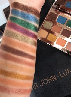 Swatches & info on SIR JOHN x LUMINESS The Lion King Makeup Collection - Beyonce's makeup artist teams up with the PRO brand for a limited edition launch Beyonce Makeup, Natural Lips, Natural Beauty, Makeup Must Haves, Tinted Lip Balm, Soft Corals, Lipstick Swatches, Bold Lips, Facial Cleanser