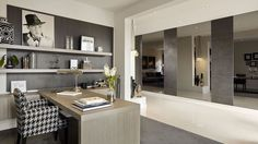 Located in Melbourne, Australia, Sorrento is a home design created by Carlisle Homes. This spectacular design combines huge living areas and endless entert Bureau Design, Space Interiors, Office Interiors, Rawson Homes, Carlisle Homes, Melbourne House, Office Interior Design, Sorrento, Interior Architecture