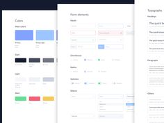 UI Styleguide for Gear CMS by Aaron Iker