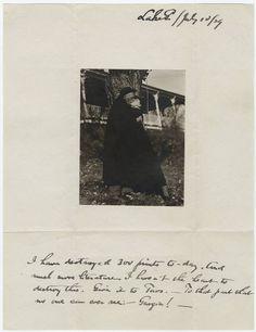 Photograph of Georgia O'Keeffe and Alfred Stieglitz kissing at Lake George, 1929