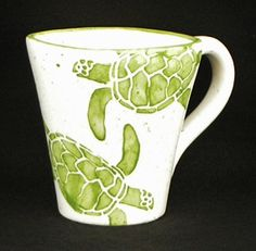 Hey, I found this really awesome Etsy listing at http://www.etsy.com/listing/114811174/mugs-sea-turtle-mugs-sea-turtle-green