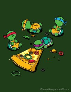 Flying Mouse 365 Selected Tees - Pizza Lover