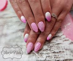 by Karolina Orzechowska Indigo Nails Lab - Find more Inspiration at www.indigo-nails.com #Nail #ombre #Mani