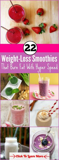 22 Yummy Weight-Loss Smoothies That Burn Fat With Hyper Speed #health #fitness #weightloss #healthyrecipes #weightlossrecipes