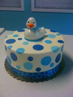 Sweet Baby boy cake!