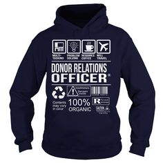 (New Tshirt Design) Awesome Tee For Donor Relations Officer [Tshirt design] Hoodies, Funny Tee Shirts