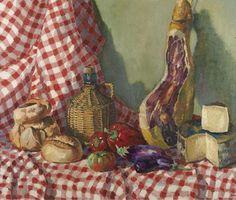 Ramon Sanvisens (1917-1987) - Still life, oil on canvas, 73 x 92 cm