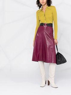 Waist Skirt, High Waisted Skirt, Rock, Leather Skirt, Skirts, Fashion, Boots, Moda, Skirt