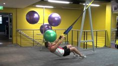 TRX Suspension Training Basics for Beginners-excited to try this! Good video that shows bad form and proper form.