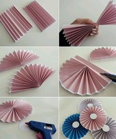 DIY : le tuto des rosaces en papier – niveau facile Related Post Hot air Balloons Easy origami Christmas ornament Decoration Tutorial}, http_status: window.Making of DIY Paper Flowers Wedding Bouquet - If you are preparing to attend the wedding cer Diy Origami, Hanging Origami, Origami Wedding, Useful Origami, Origami Paper, Origami Envelope, Origami Design, Diy Wedding, Paper Flowers Wedding