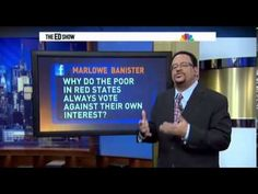 Michael Eric Dyson On Why Poor Whites in 'Red-States' Vote Against Their...