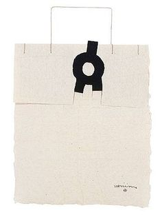 Gravitación  ARTIST: Eduardo Chillida (Spanish, 1924–2002)  WORK DATE: 1991  CATEGORY:Works on Paper (Drawings, Watercolors etc.)  MATERIALS:ink on handmade paper
