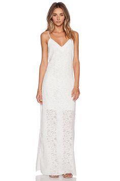 Nikki Reed for REVOLVE Roe Slip Dress in Cream
