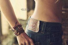 Levi's and bracelets - by Ernesto Olivera