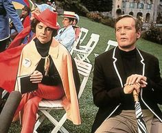 I was so obsessed with The Prisoner in high school.  Apparently the producers kept writing femme fatale characters into the show as intended love interests, but McGoohan kept killing them off!