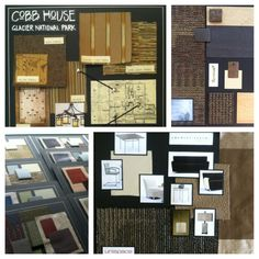 Interior Design presentation boards for commercial interiors www.schurkedesignservices.com