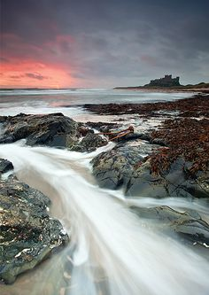 Bamburgh Delight by Michael James Combe | Long Time Exposure Photography