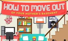 Here's how to prepare to move out for the first time! #apartment moving