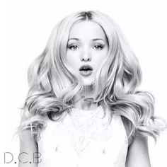 Sexy Dove Cameron with the perfect mouth even in black and white !!!!!