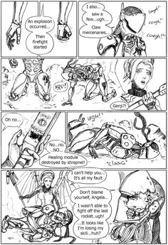 "GraySkullArt — ""Fall of Overwatch"". Part 2 If you like this..."