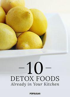 10 Natural Ways to Help Detoxify the Body